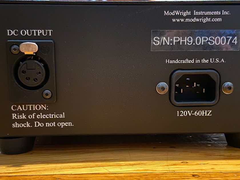 ModWright PH 9.0 w/Power Supply + Original NOS AMPEREX 6DJ8s! Practically Brand New!