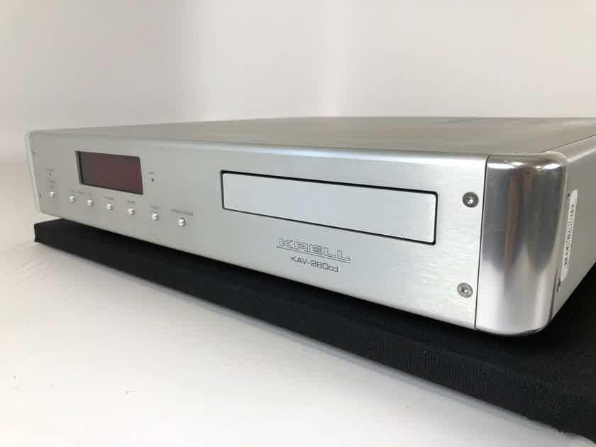 Krell KAV-280cd CD Player with Quad 24-Bit Burr-Brown PCM-1704's