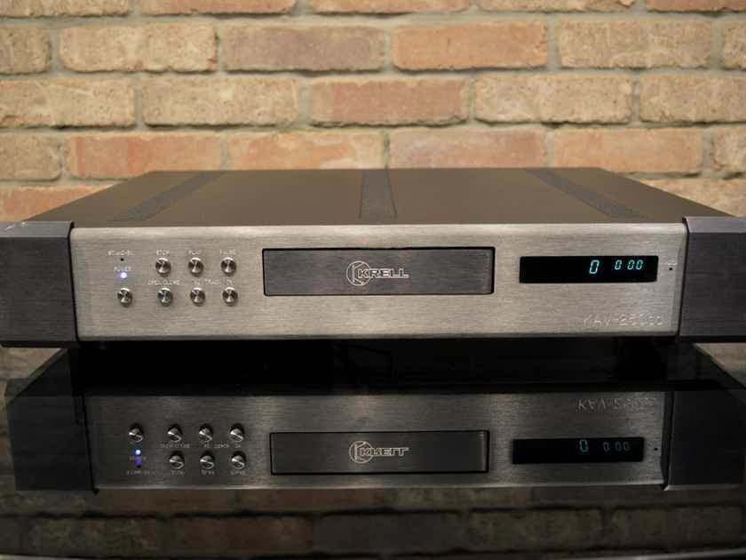Krell KAV-250cd - Tank-like Construction w/ Balanced Output
