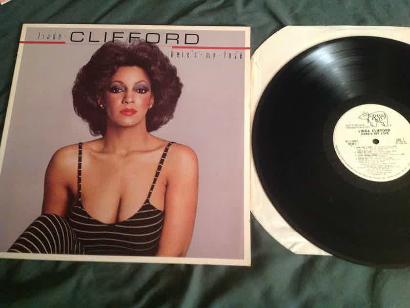 Linda Clifford  Here's My Love RSO Records White Label Promo LP