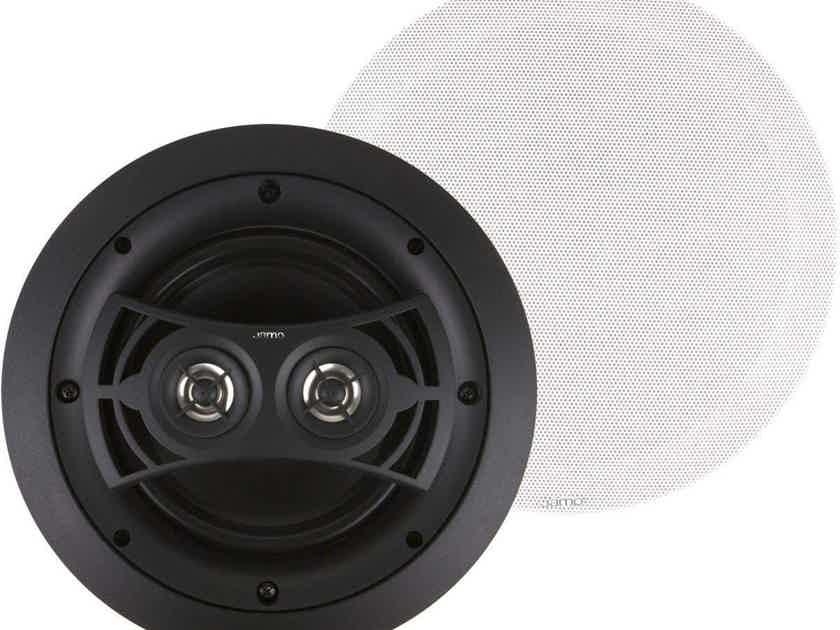 Jamo I/O 6.5DVCA2 FG In Ceiling Speaker; Single; White (New) (26310)