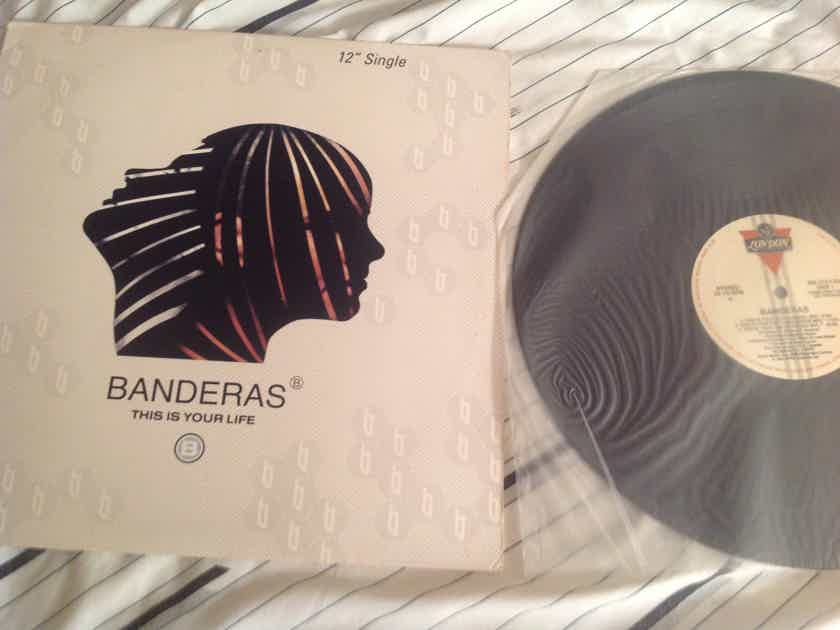 Banderas This Is Your Life London Records Promo 12 Inch