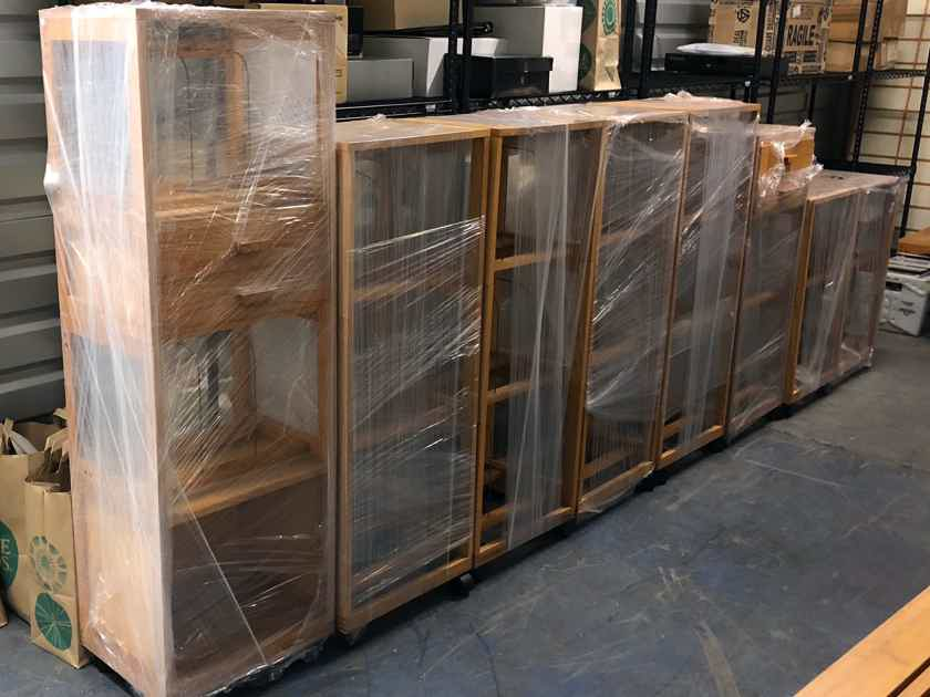 Per Madsen RACKIT LP storage system - excellent condition! NEW LOWER PRICE