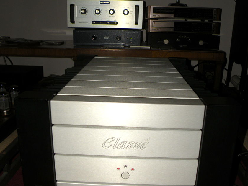 CLASSE OMEGA Flagship stereo amplifier