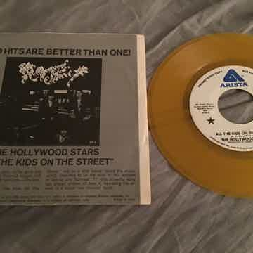 The Kinks The Hollywood Stars Yellow Vinyl  Sleepwalker...