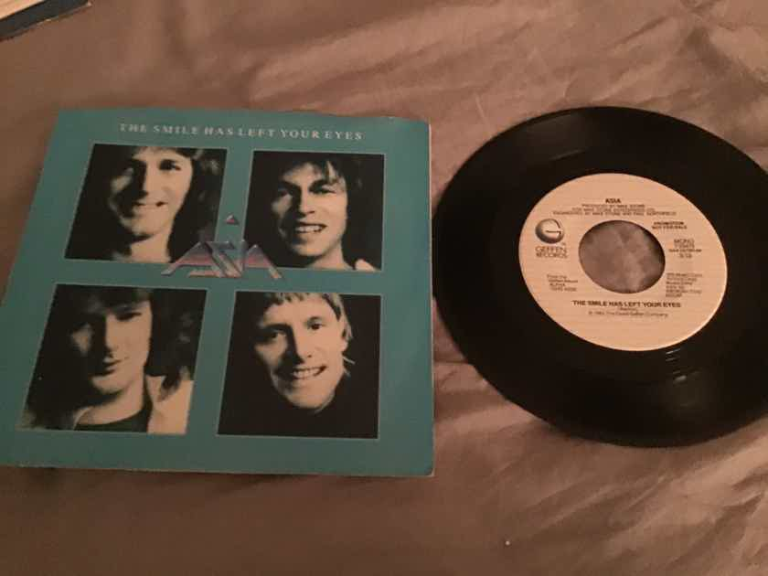 Asia The Smile Has Left Your Eyes Promo 45 With Picture Sleeve