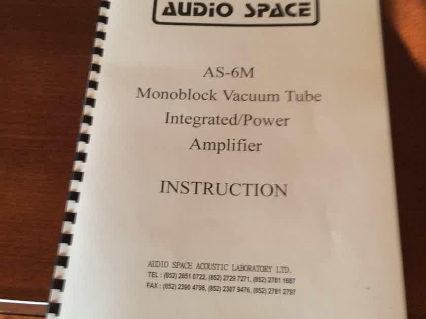 Audio Space AS-1000 AS 6M Mono Blocks