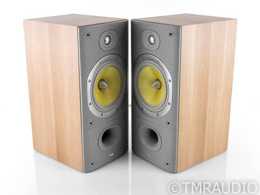 B&W DM602 S3 Bookshelf Speakers; DM-602; Oak Sorrento Pair (23312)