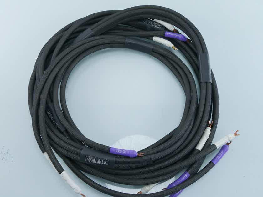 Audio Magic Spellcaster II Bi-wire Speaker Cables; 8\' Pair (1219 ...
