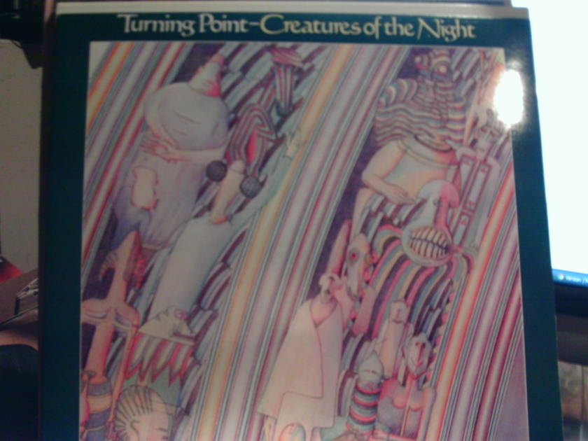 Turning Point - CREATURES OF THE NIGHT PRESSED IN THE UK