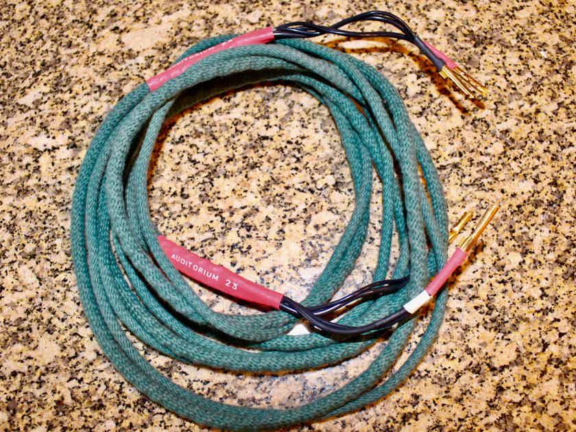 Auditorium 23 A23 2.5 meter speaker cables