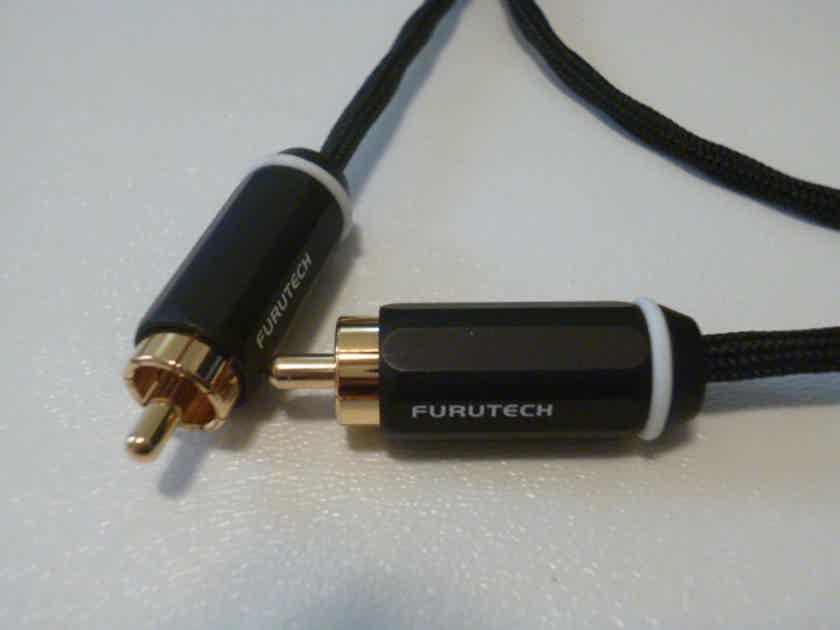 Schmitt Custom Audio Furutech RCA Cables 1 meter 1 pair
