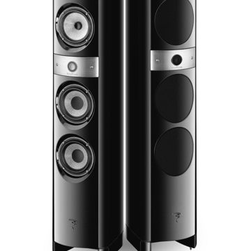 Electra 1028 Be II Floor Speakers-Black (Pair)