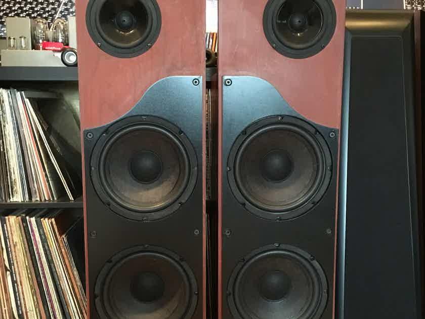 Alon Lotus Elite Speakers, Restored and Super Rare