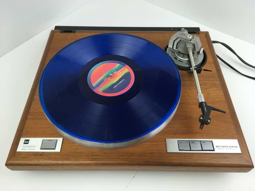Dual CS-5000 Table with Cartridge Made in Germany