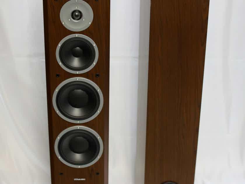 Dynaudio  Focus 340  (Walnut Pair) Tower Speakers FREE Shipping