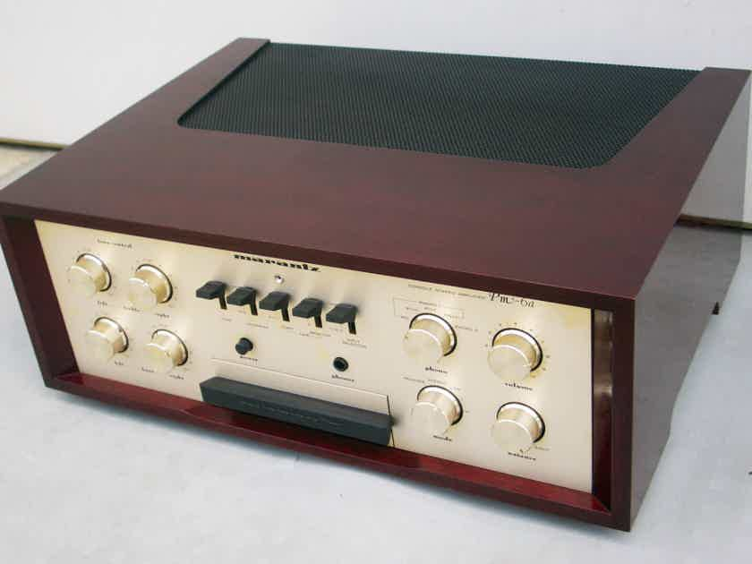 MARANTZ PM-6A INTEGRATED AMPLIFIER *free shipping*