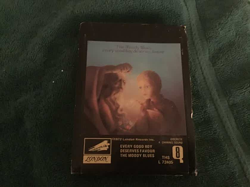Moody Blues  Every Good Boy Deserves Favour Quad 8 Tape