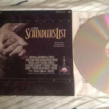 Liam Neeson Schindler's List Widescreen THX Laserdisc