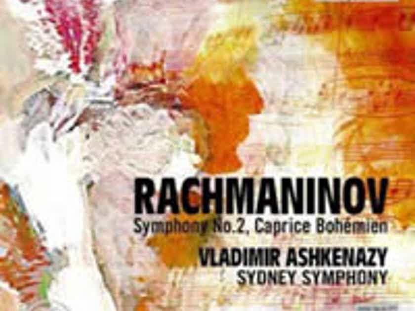 Rachmaninov: Symphony No. 2 - Capriccio Bohemien - Ashkenazy Sydney SO Exton Import RARE