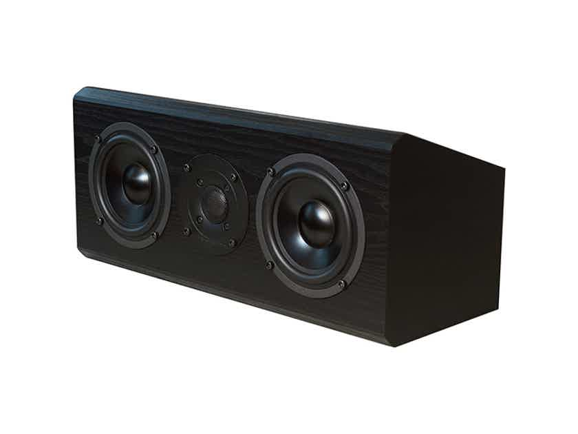 BRYSTON Model AC-1 Micro Center Channel (Black Ash): New-In-Box; Full Warranty; 53% Off
