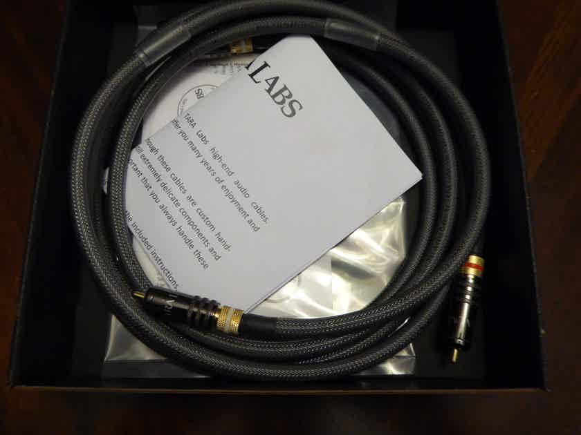 Tara Labs  TL-201 1 pair Audio Cable RCA 1.5M