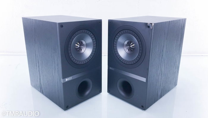 KEF Q100 Bookshelf Speakers Black Oak Pair Q 100 14177