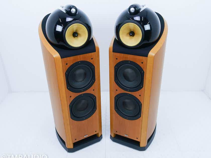 B&W Nautilus 802 Floorstanding Speakers Cherrywood Pair (14935)