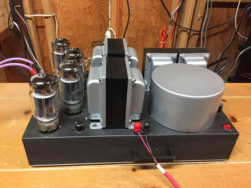 KT-88/KT-120 Custom Build  Push-Pull Tube Amplifier High Quality Build
