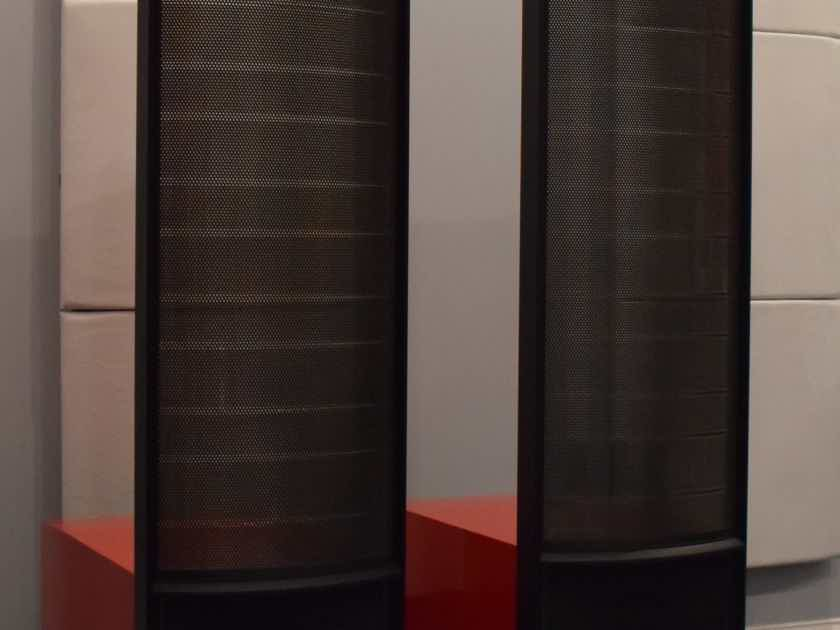 Martin Logan Renaissance Esl 15A Floorstanding Speaker (PAIR, Gloss Rosso Fuoco)