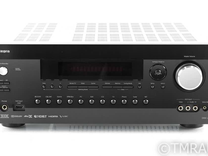 Integra DRX-4 7.2 Channel Home Theater Receiver; DRX4; Remote (21995)