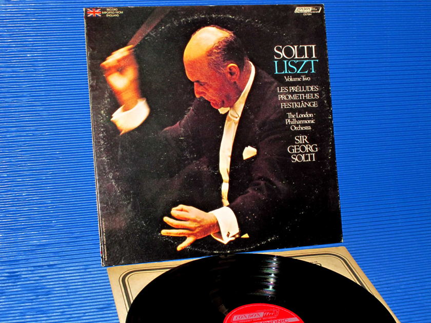 "LISZT / Solti  - ""Les Preludes"" -  London 1978 early pressing"