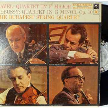 The Budapest String Quartet- Ravel: Quartet in F Maj, D...