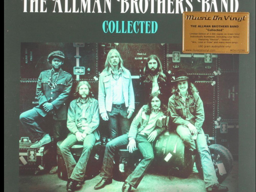 The Allman Brothers Band Collected - 2lp Limited Edition Set on Green Vinyl - ltd to 3500 numbered copies