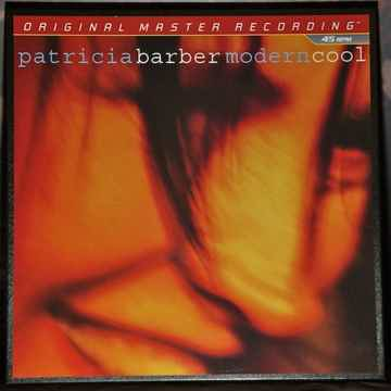 PATRICIA BARBER Modern Cool MOBILE FIDELITY 3LP SET 45rpm