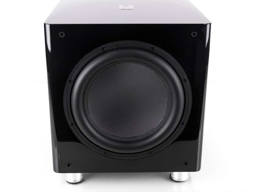 """Sumiko S.10 12"""" Powered Subwoofer; Gloss Black; S-10 (1/1) (20372)"""