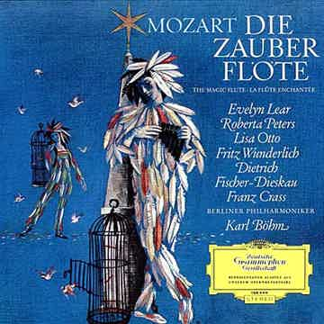 Mozart  Die Zauber Flote (The Magic Flute) 180g LP