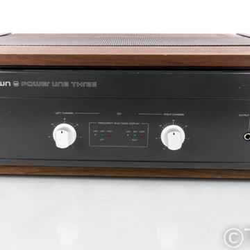 Crown Power Line Three Stereo Power Amplifier