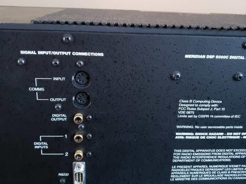 Meridian Surround Speakers (4) DSP-5000 DSP-5000c and DSW-2500