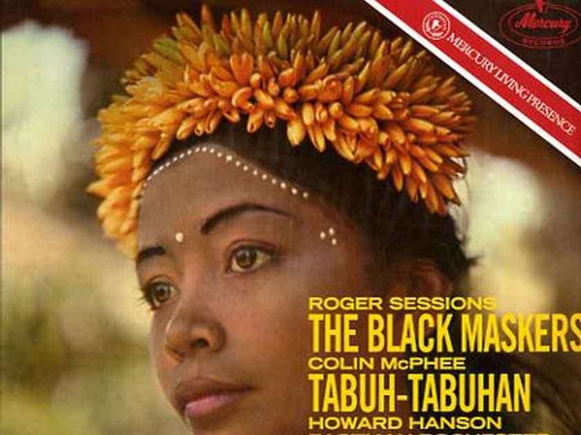 Howard Hanson/Eastman-Rochester Orchestra -  Sessions The Black Maskers; McPhee Tabuh-Tabuhan