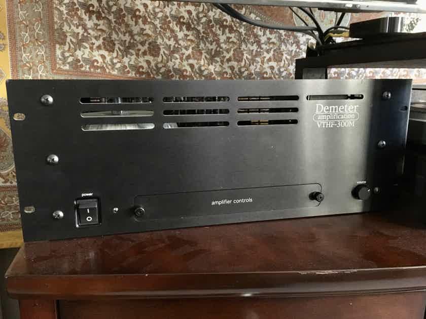 2 Demeter VTHF-300M Tube Power Amplifiers (mono block, 300W) w/ custom upgrades by Todd Sharp (Nashville Amplifier Service)