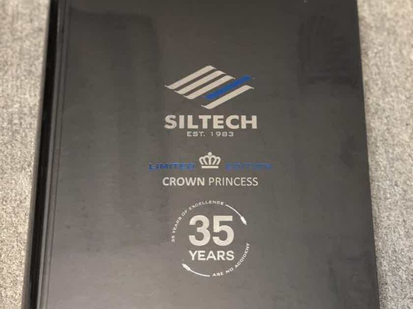 Siltech Cables Crown Princess 35 Year Ann RCA 1.5m Brand New & Reduced!!