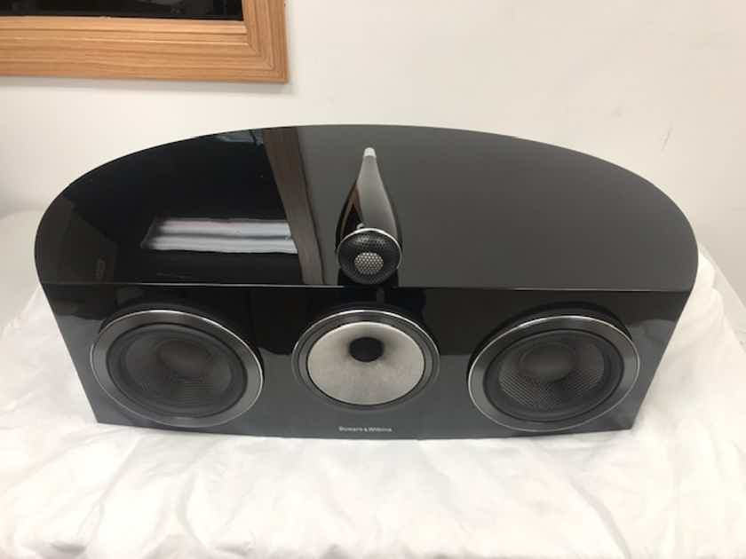 B&W (Bowers & Wilkins) HTM2 D3 Gloss Black-Diamond Series Center Channel Speaker