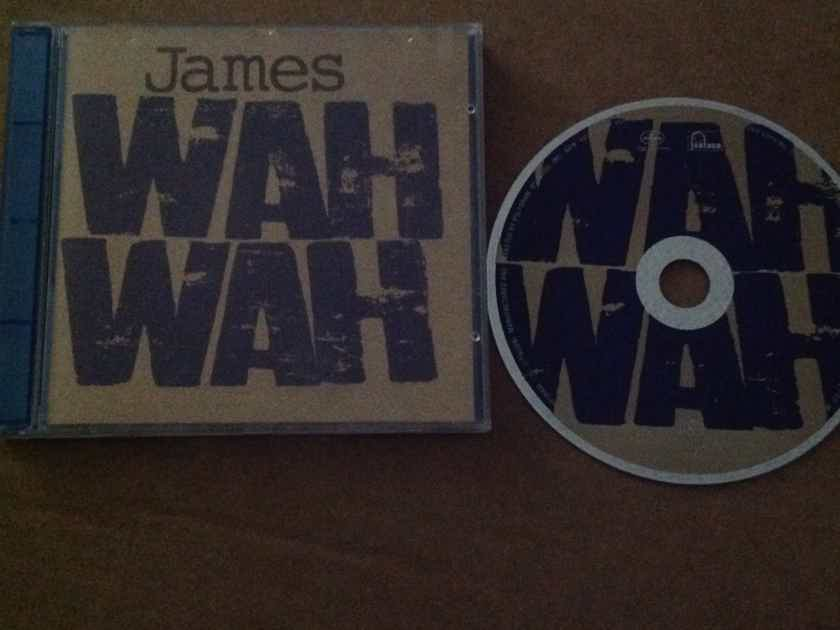 James - Wah Wah Brian Eno Producer Mercury Records Compact Disc