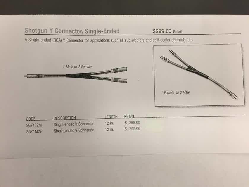 MIT  Shotgun Y Cable