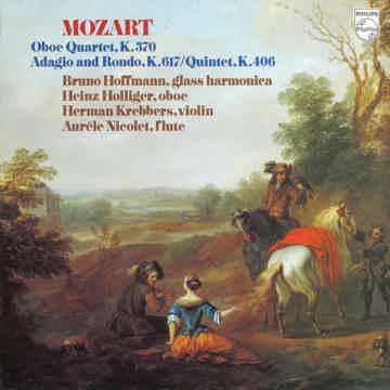 Etc Holliger Nicolet Hoffmann  Mozart Oboe Quartet Philips 