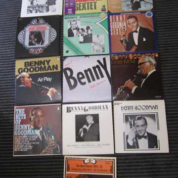 13 Benny Goodman LPS, Ex Condition Musicmasters,Artistry,Capitol, , Etc, Ex Sound
