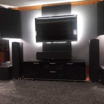 JL Audio e112 black ash
