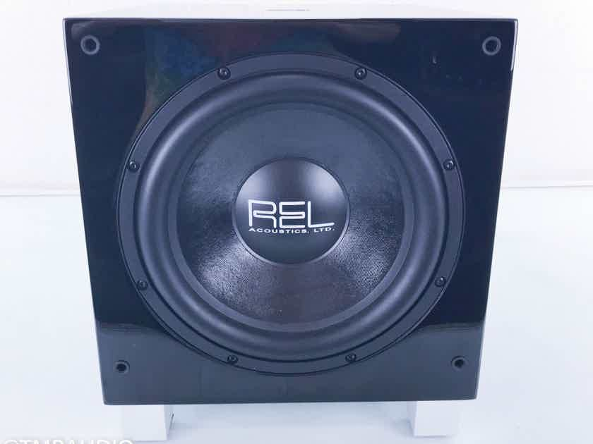 """REL T7 Powered 8"""" Subwoofer Piano Black (14130)"""