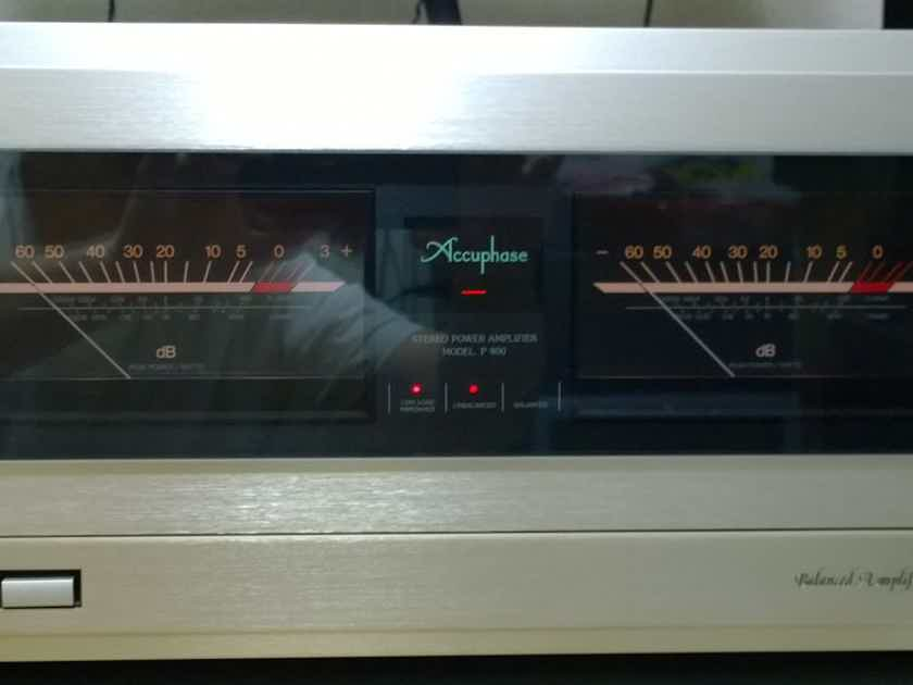 Accuphase P-800 Stereo Power Amplifier 400W x 2